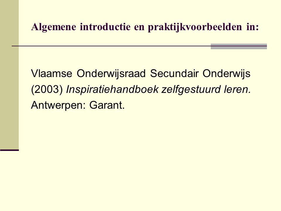 Algemene introductie en praktijkvoorbeelden in: