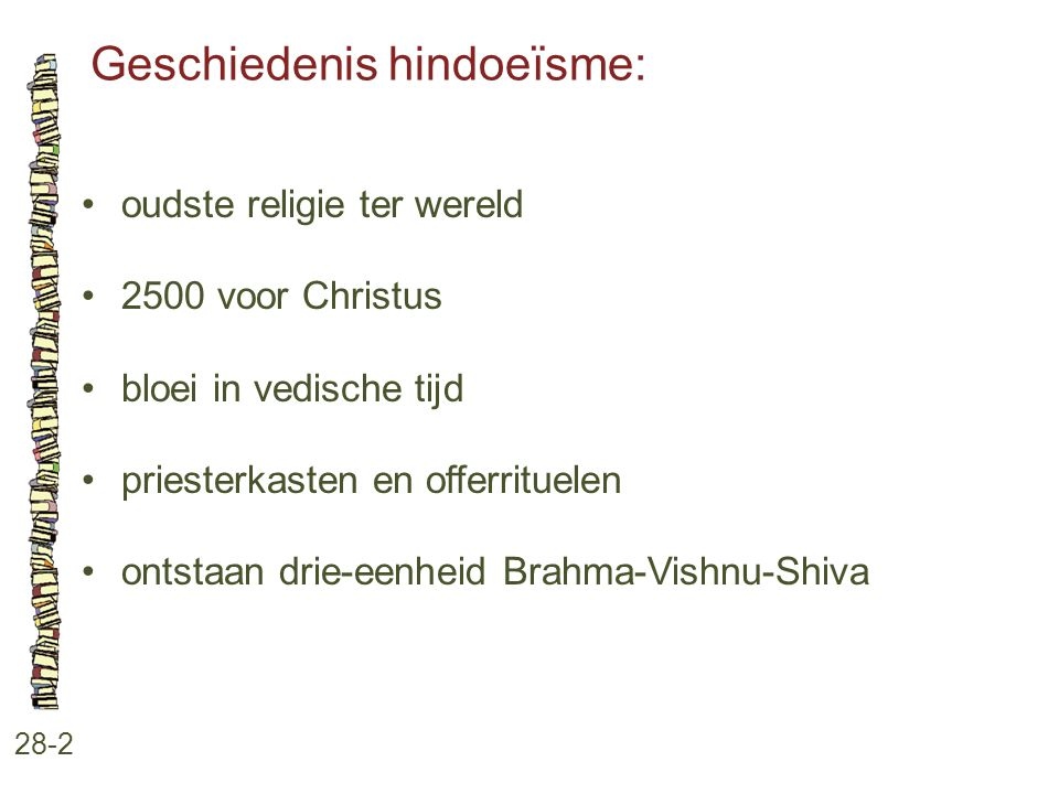 Geschiedenis hindoeïsme: