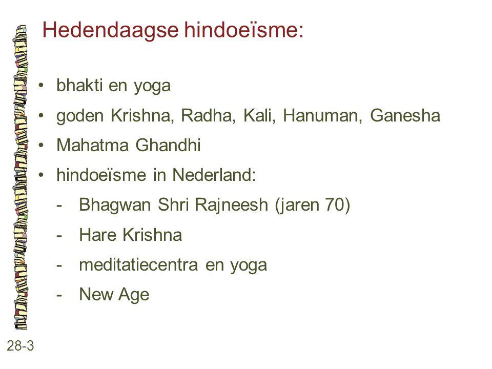 Hedendaagse hindoeïsme: