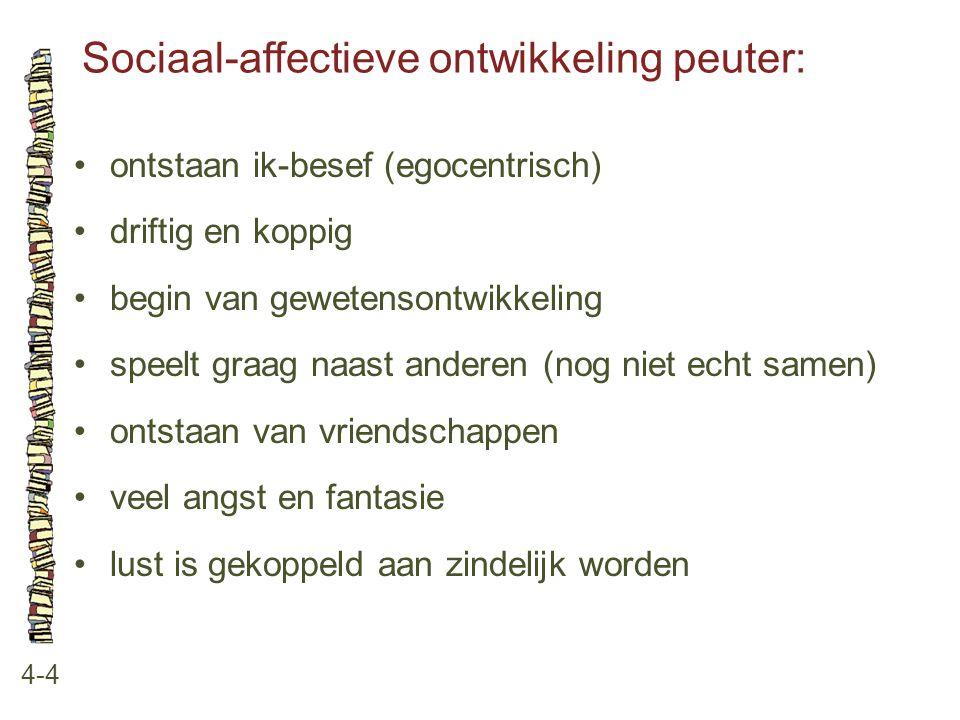 Sociaal-affectieve ontwikkeling peuter: