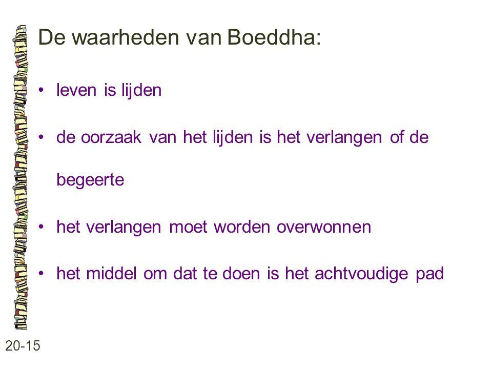 De waarheden van Boeddha: