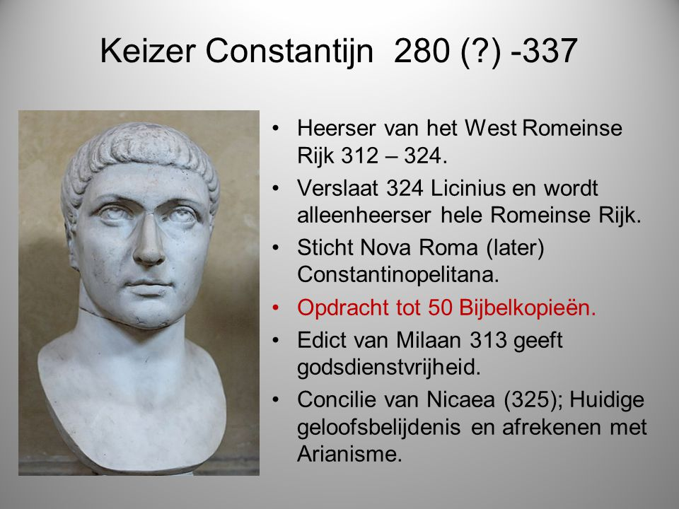 Keizer Constantijn 280 ( ) -337