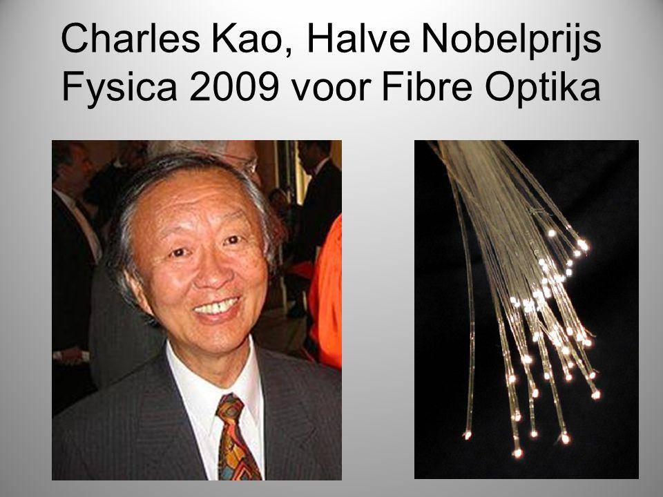 Charles Kao, Halve Nobelprijs Fysica 2009 voor Fibre Optika
