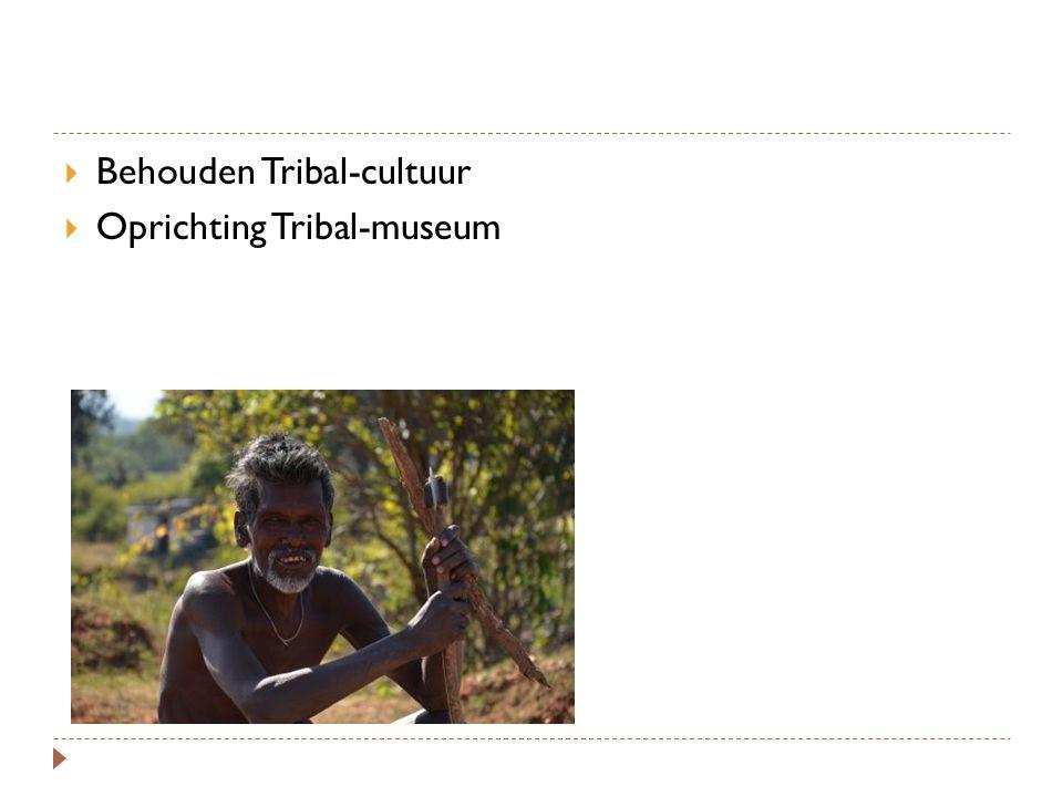 Behouden Tribal-cultuur