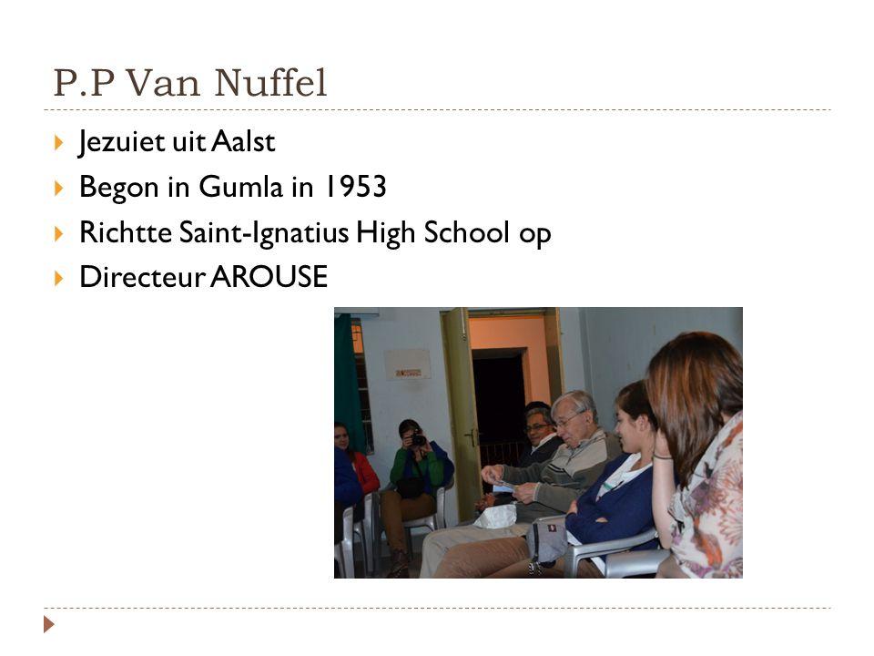 P.P Van Nuffel Jezuiet uit Aalst Begon in Gumla in 1953