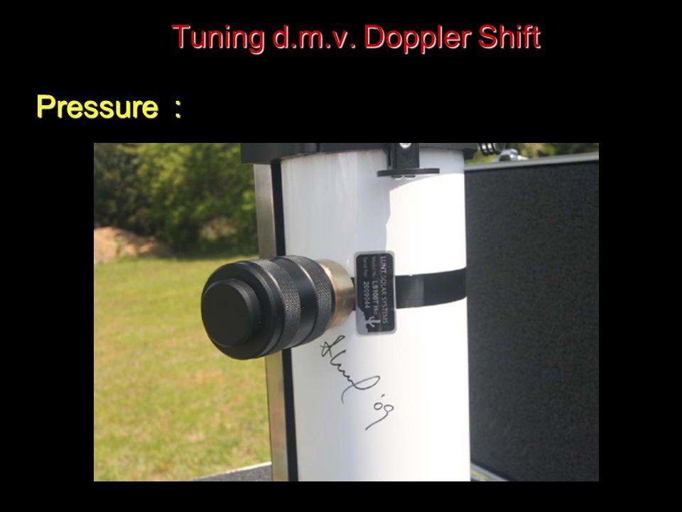 Tuning d.m.v. Doppler Shift