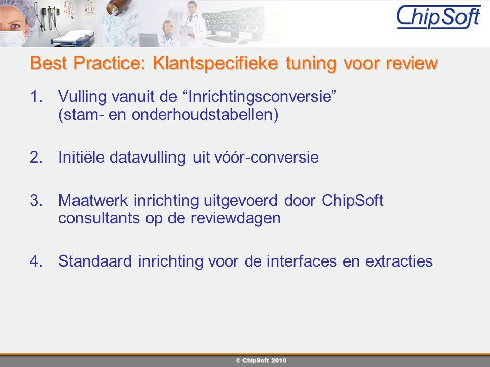Best Practice: Klantspecifieke tuning voor review