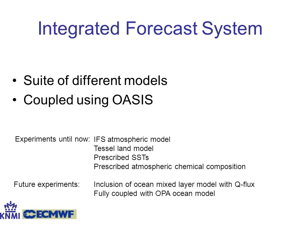 Integrated Forecast System