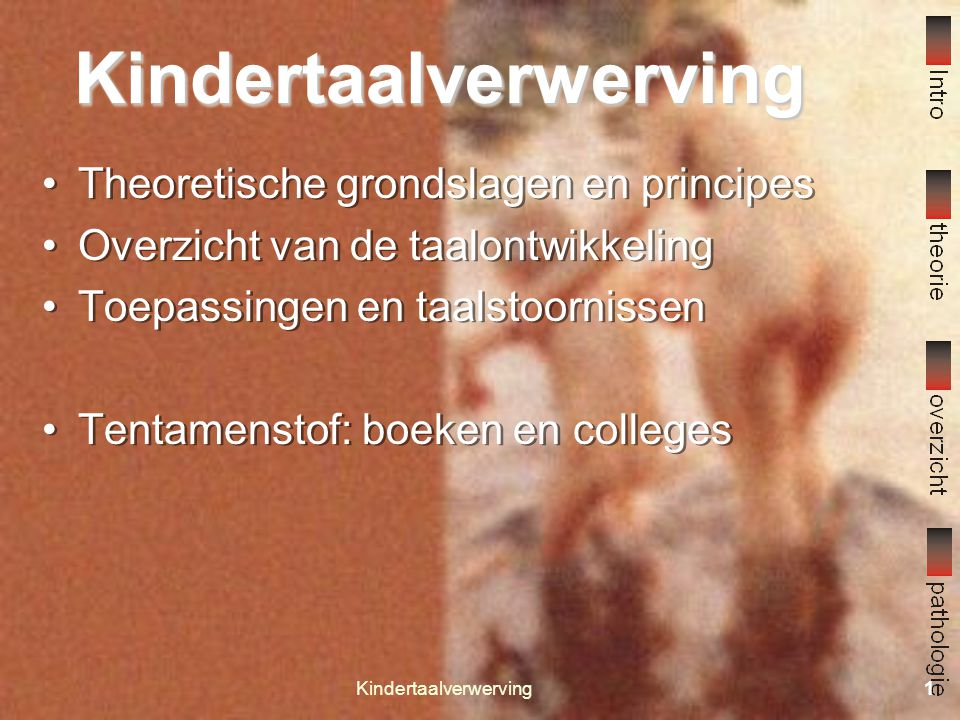 Kindertaalverwerving