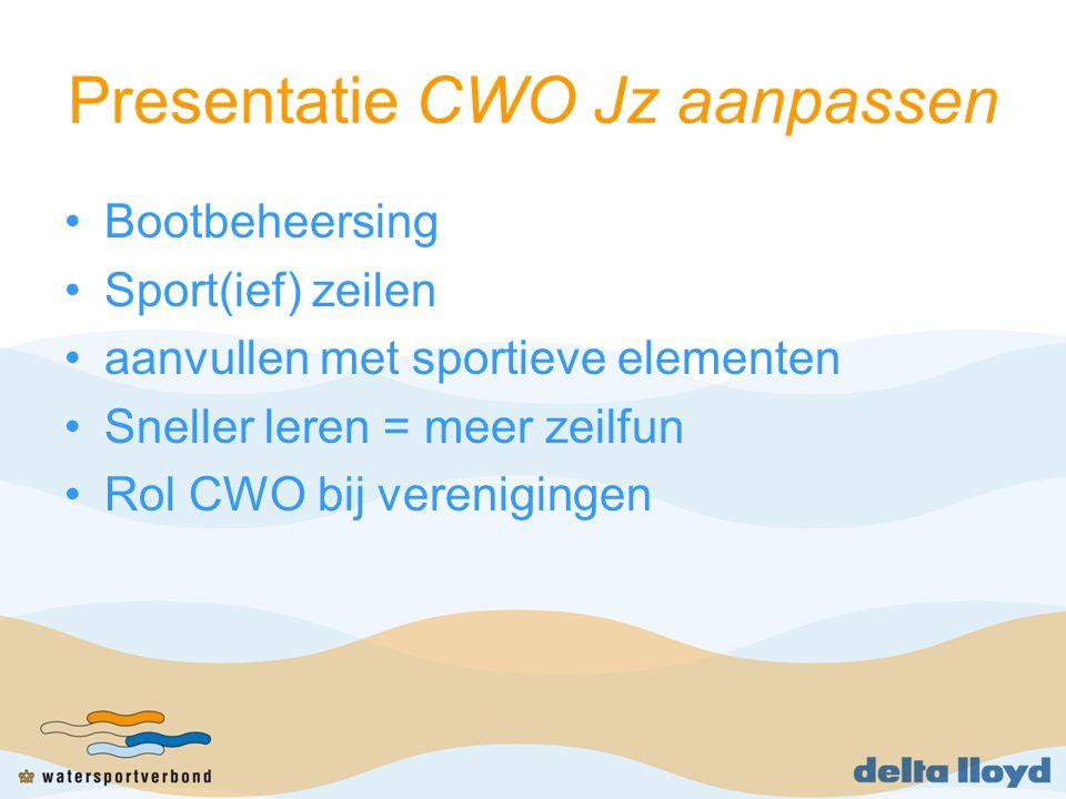 Presentatie CWO Jz aanpassen