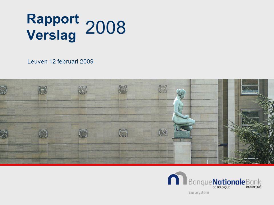 Rapport Verslag 2008 Leuven 12 februari 2009