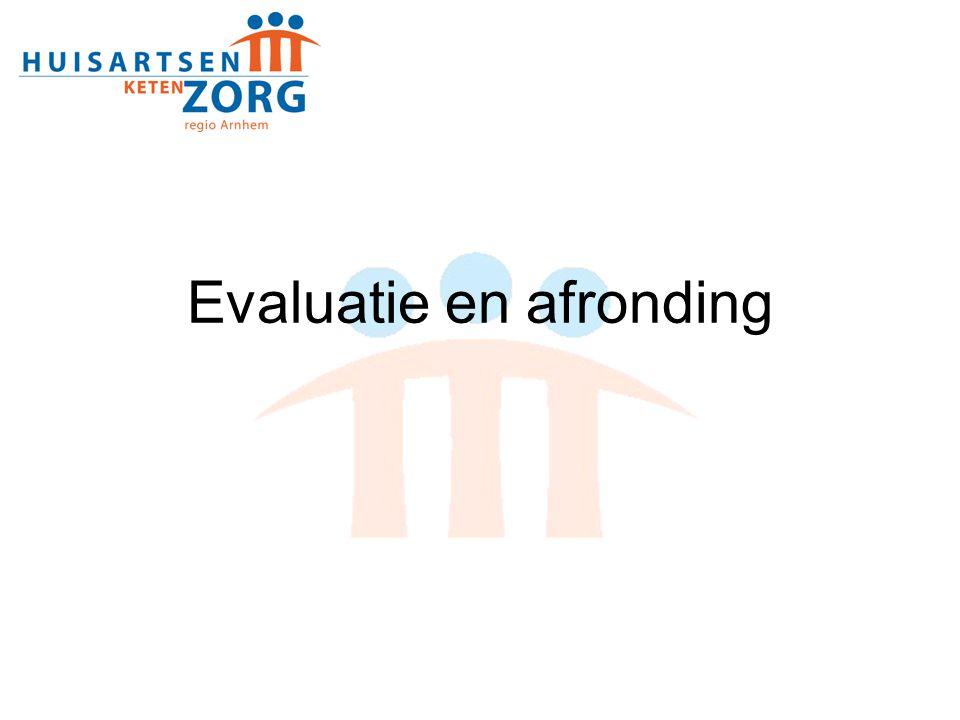 Evaluatie en afronding
