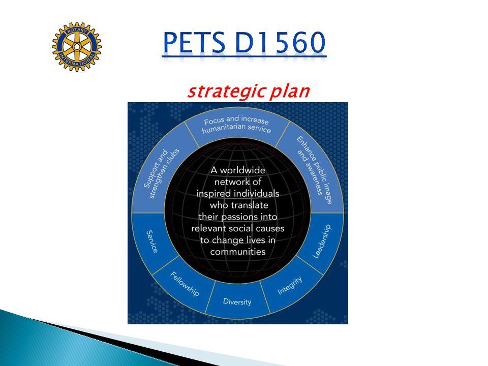 PETS D1560 strategic plan