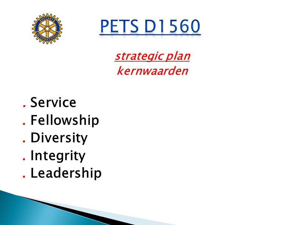 PETS D1560 . Service . Fellowship . Diversity . Integrity . Leadership