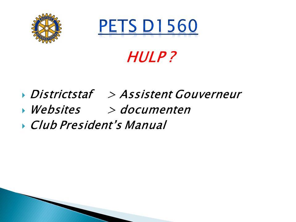 PETS D1560 HULP Districtstaf > Assistent Gouverneur
