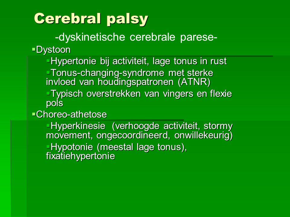 -dyskinetische cerebrale parese-