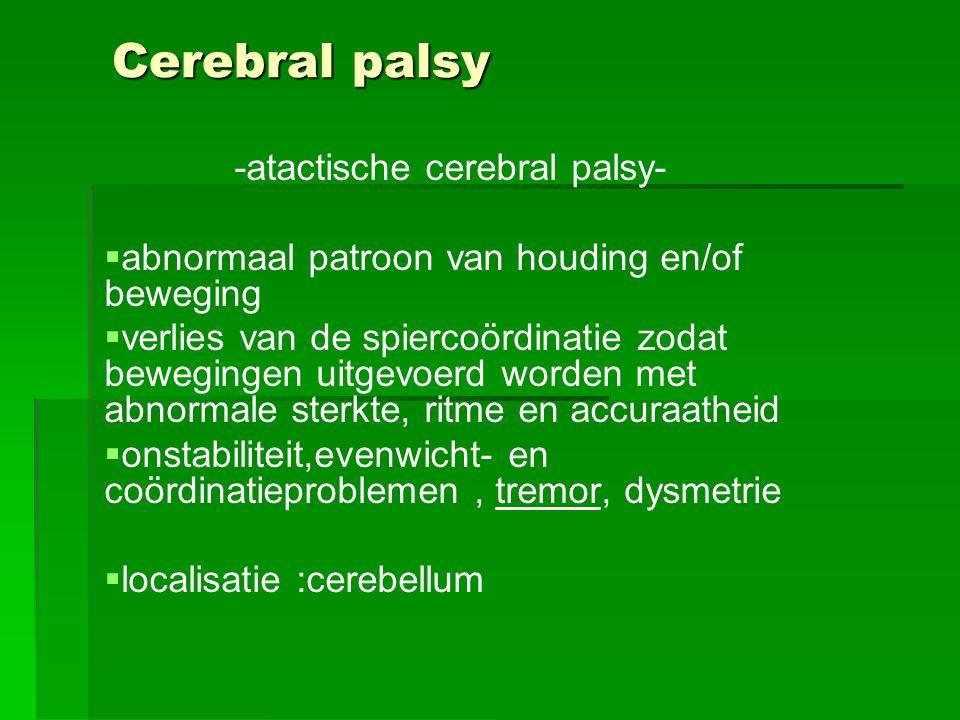 -atactische cerebral palsy-