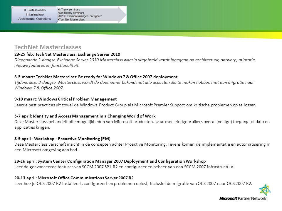 TechNet Masterclasses