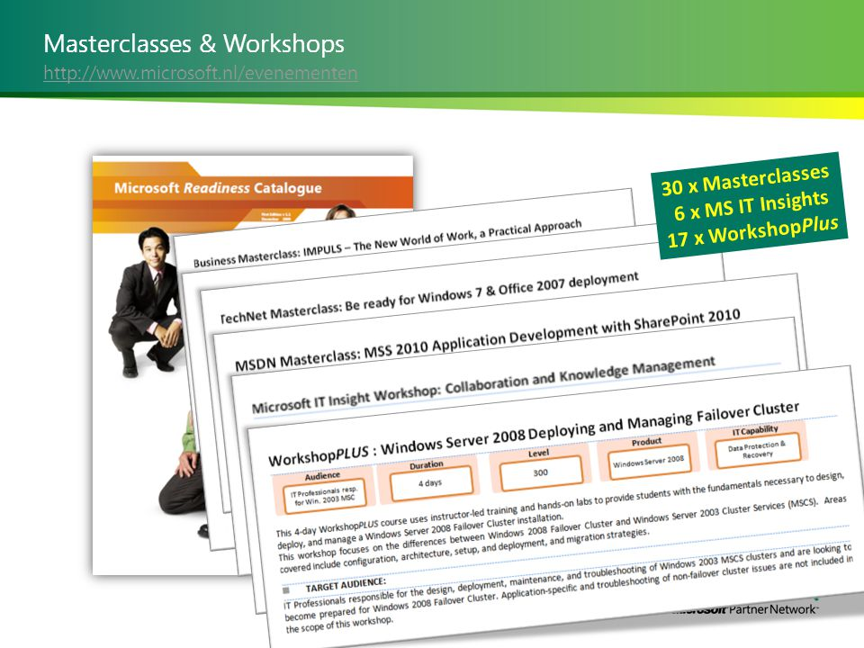 Masterclasses & Workshops