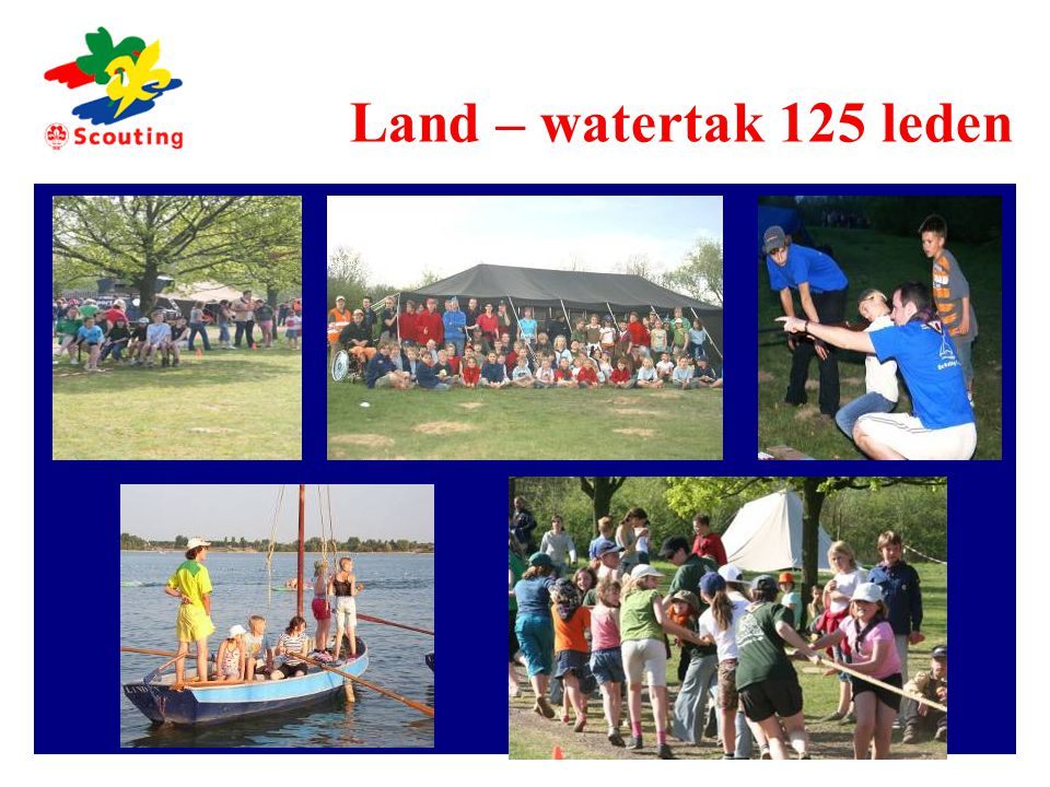 Land – watertak 125 leden