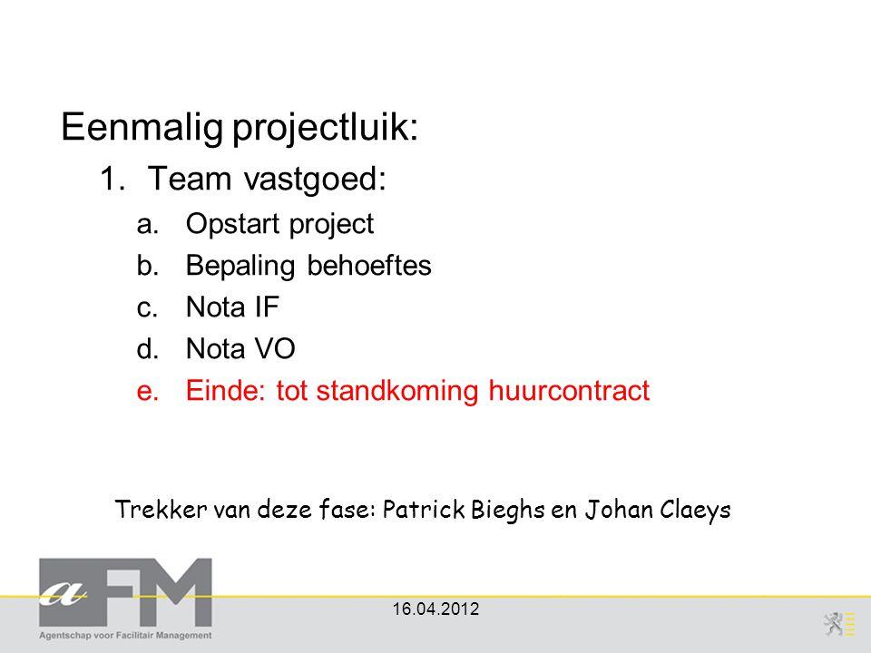 Trekker van deze fase: Patrick Bieghs en Johan Claeys