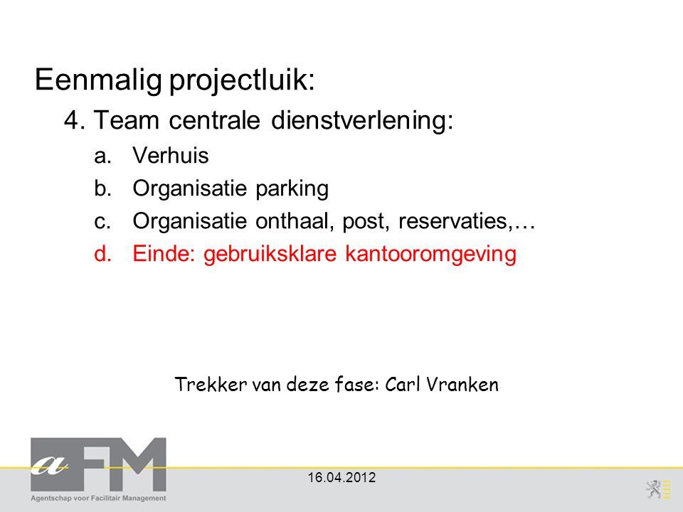 Trekker van deze fase: Carl Vranken