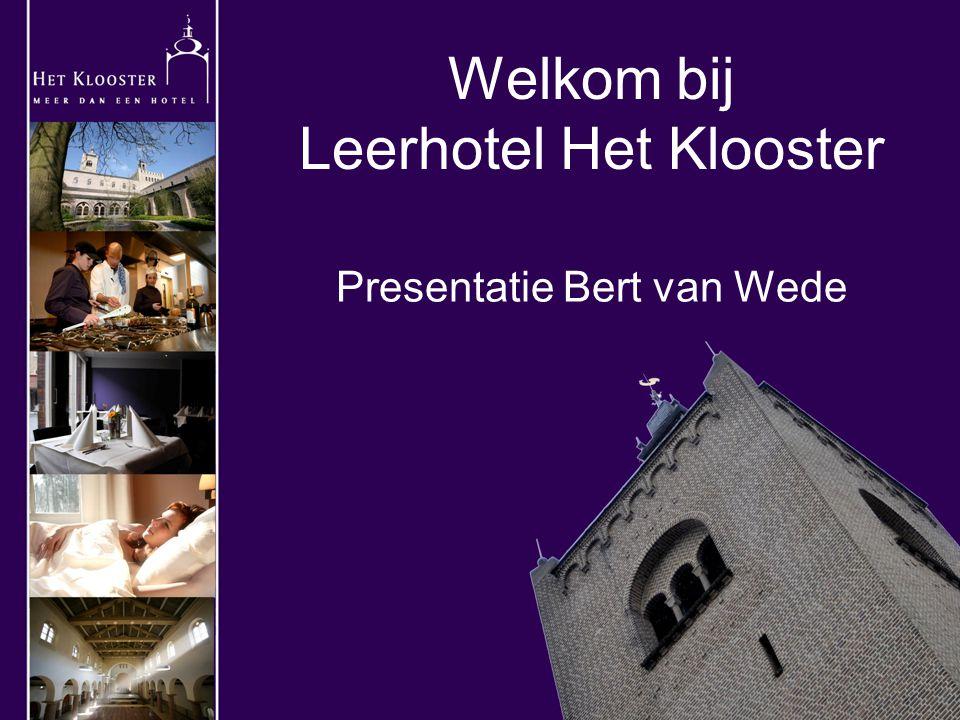 Welkom bij Leerhotel Het Klooster