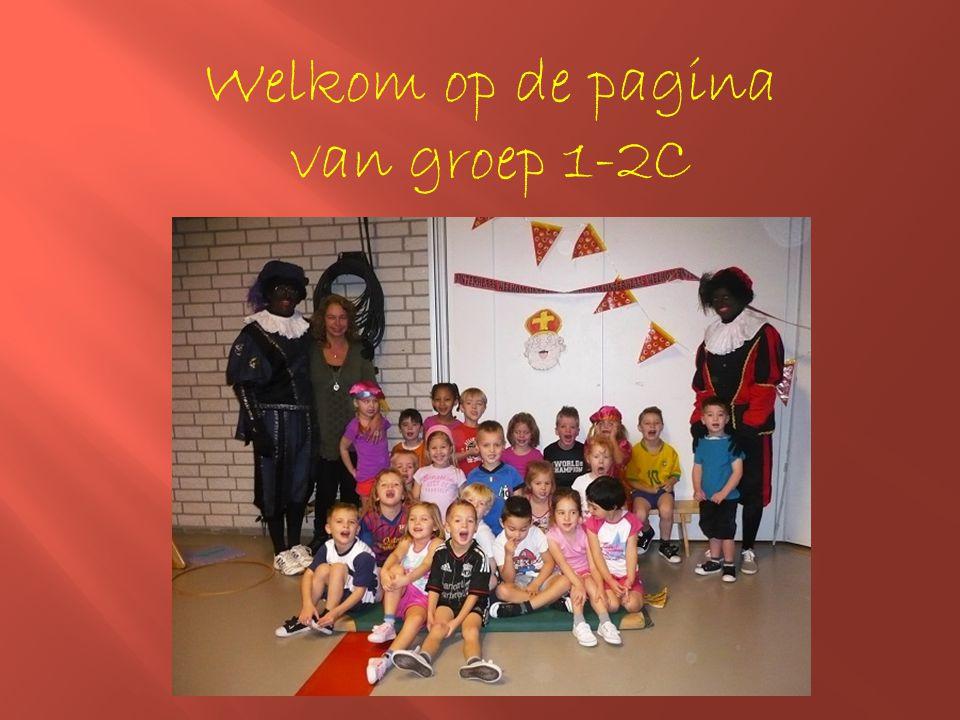 Welkom op de pagina van groep 1-2C