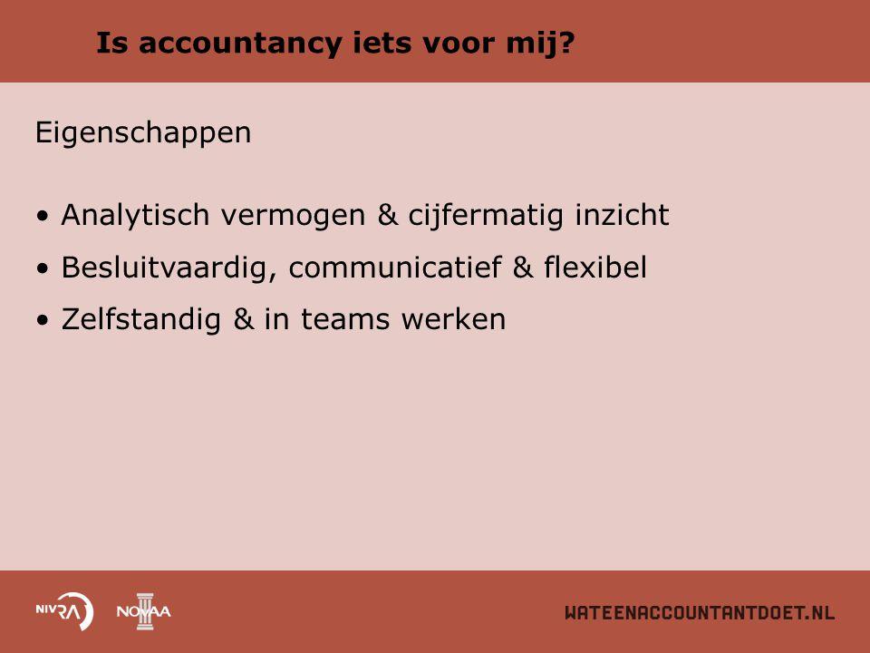 Is accountancy iets voor mij