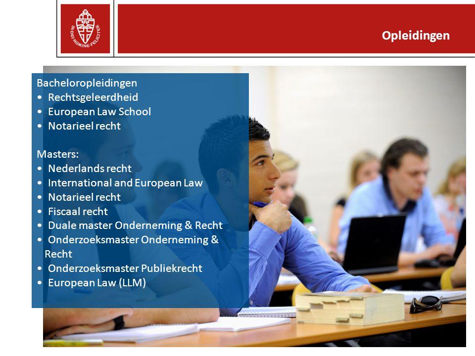 Opleidingen Bacheloropleidingen Rechtsgeleerdheid European Law School