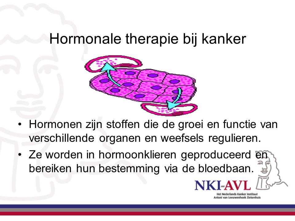 Hormonale therapie bij kanker