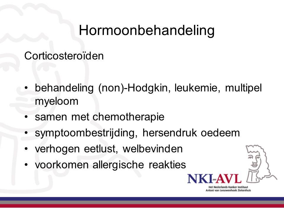 Hormoonbehandeling Corticosteroïden