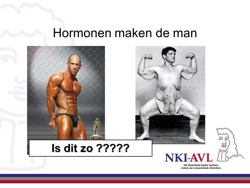 Hormonen maken de man Is dit zo