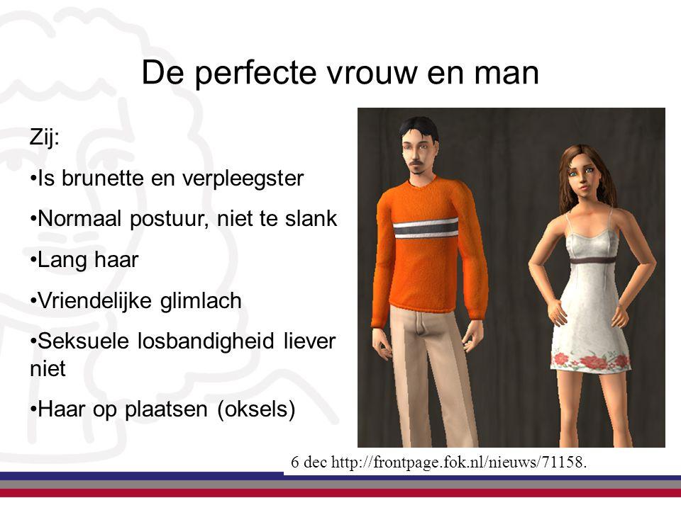 De perfecte vrouw en man