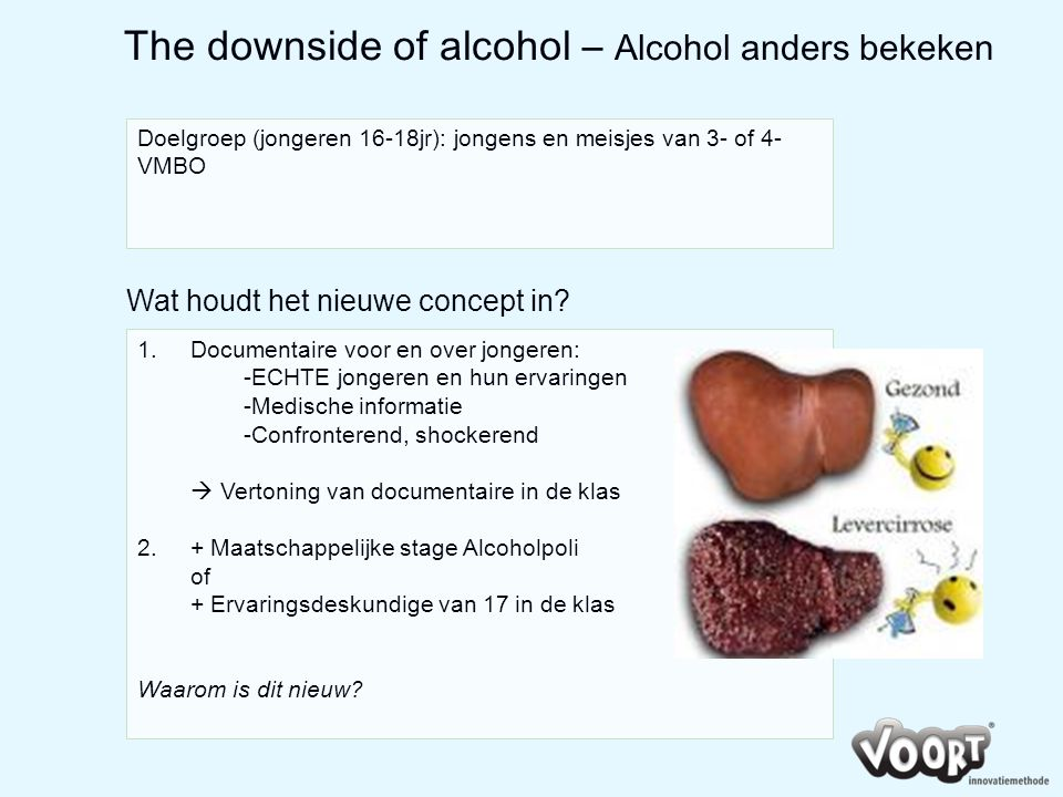 The downside of alcohol – Alcohol anders bekeken