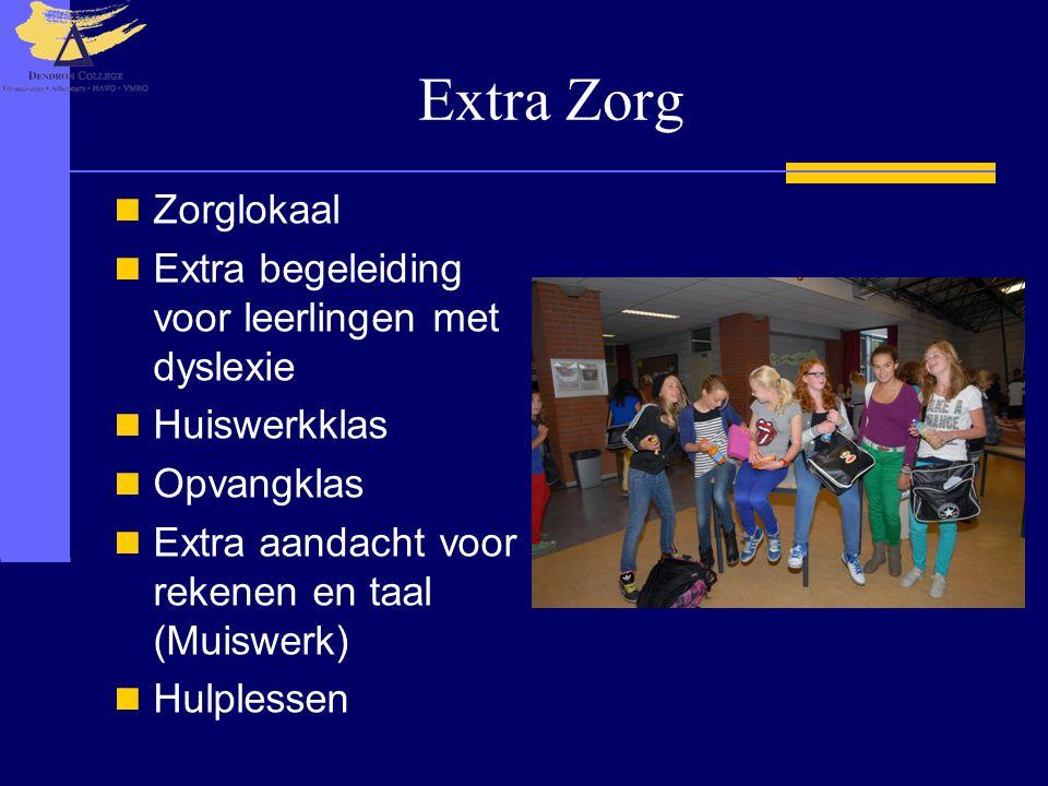 Extra Zorg Zorglokaal Extra begeleiding voor leerlingen met dyslexie