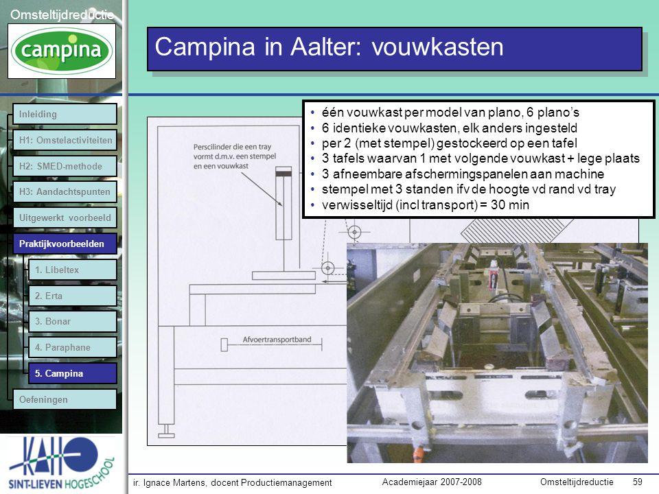 Campina in Aalter: vouwkasten