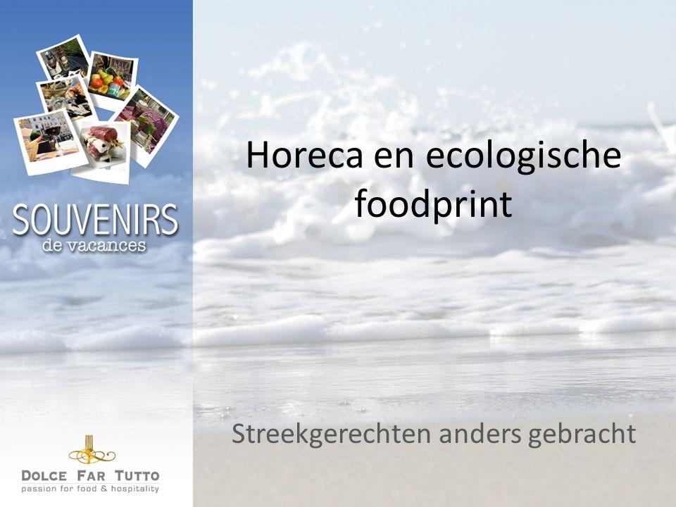 Horeca en ecologische foodprint