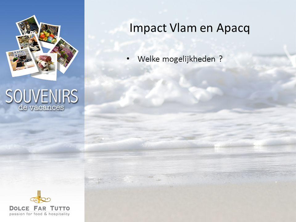 Impact Vlam en Apacq Welke mogelijkheden
