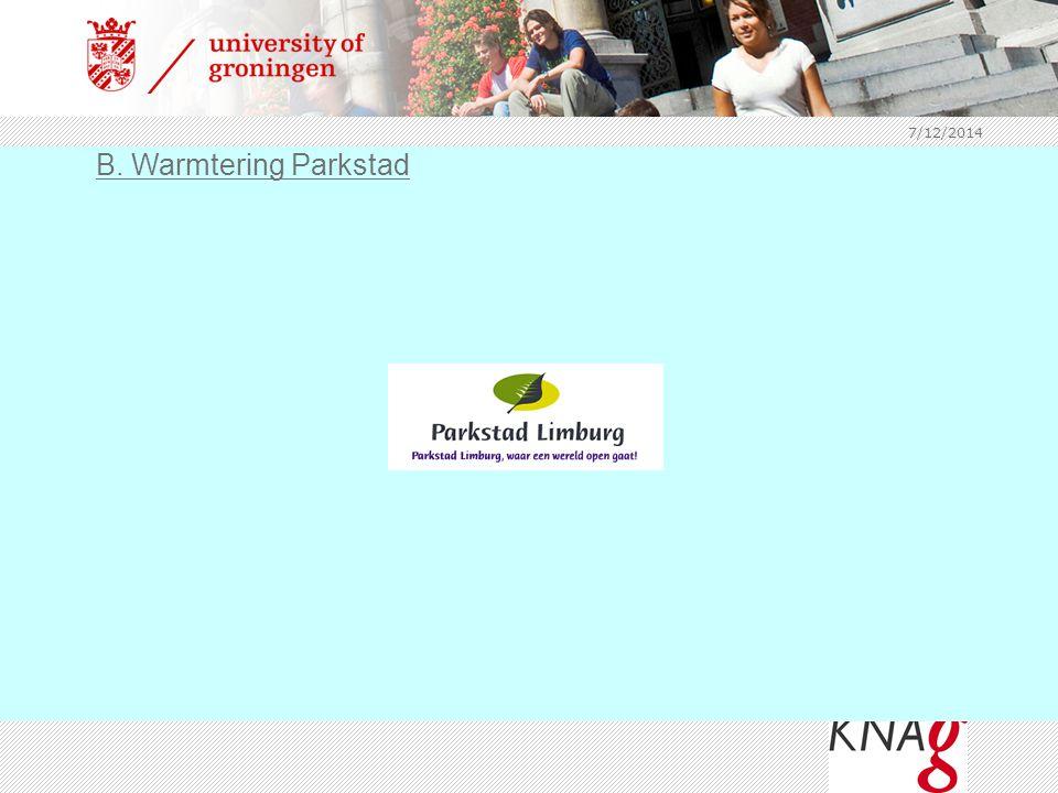4/4/2017 B. Warmtering Parkstad