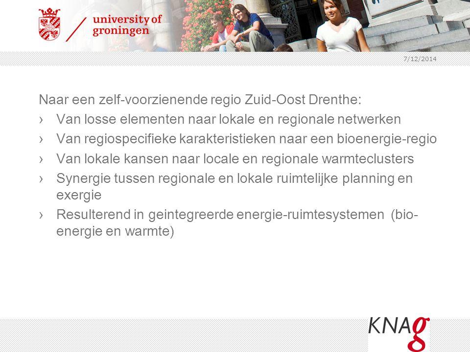 Naar een zelf-voorzienende regio Zuid-Oost Drenthe: