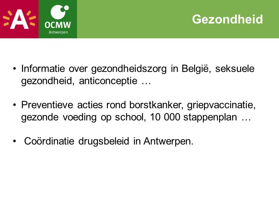 Gezondheid Informatie over gezondheidszorg in België, seksuele gezondheid, anticonceptie …