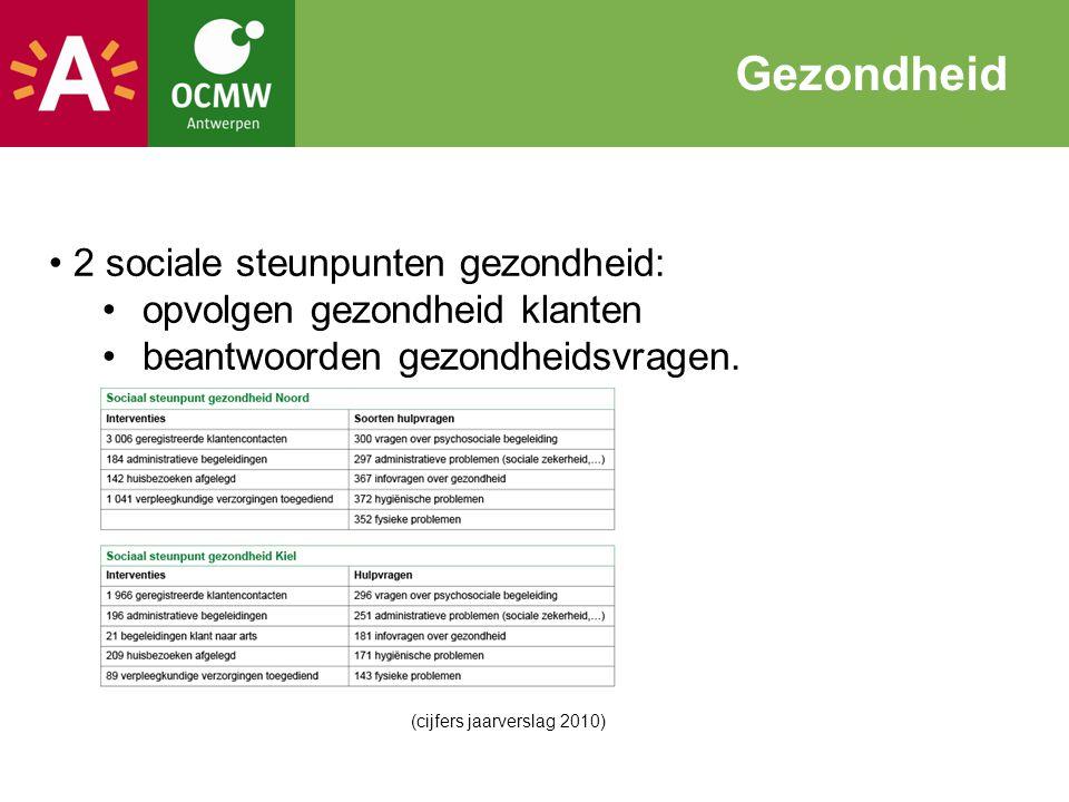 Gezondheid 2 sociale steunpunten gezondheid:
