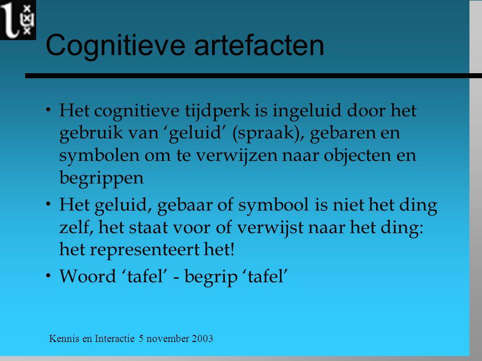 Cognitieve artefacten