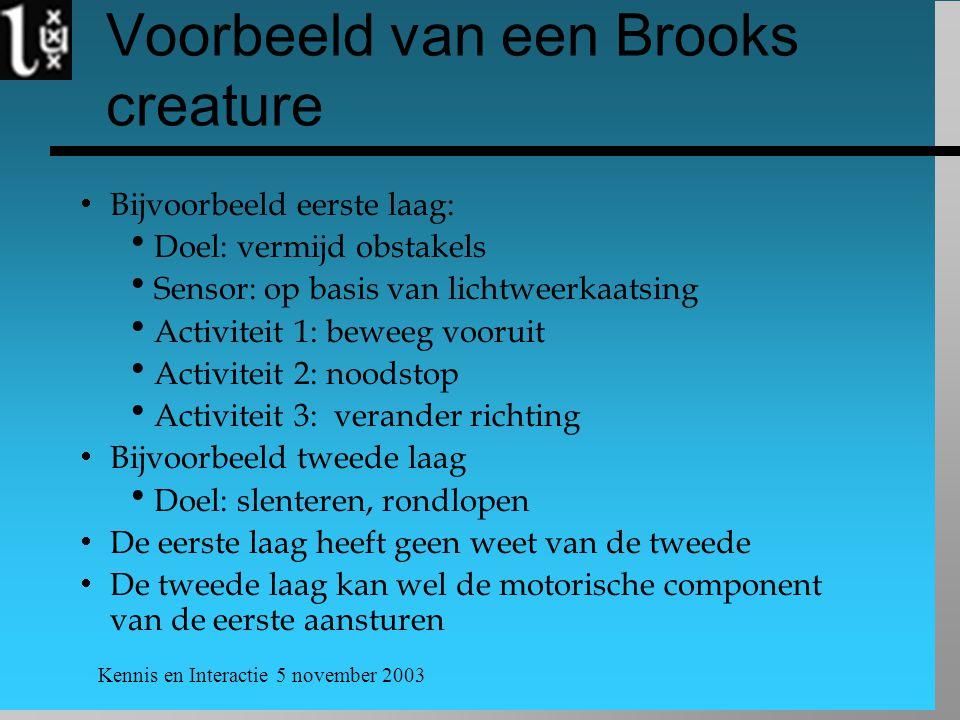 Voorbeeld van een Brooks creature