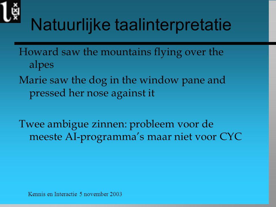Natuurlijke taalinterpretatie