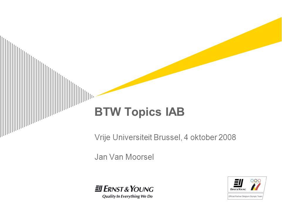 Vrije Universiteit Brussel, 4 oktober 2008 Jan Van Moorsel