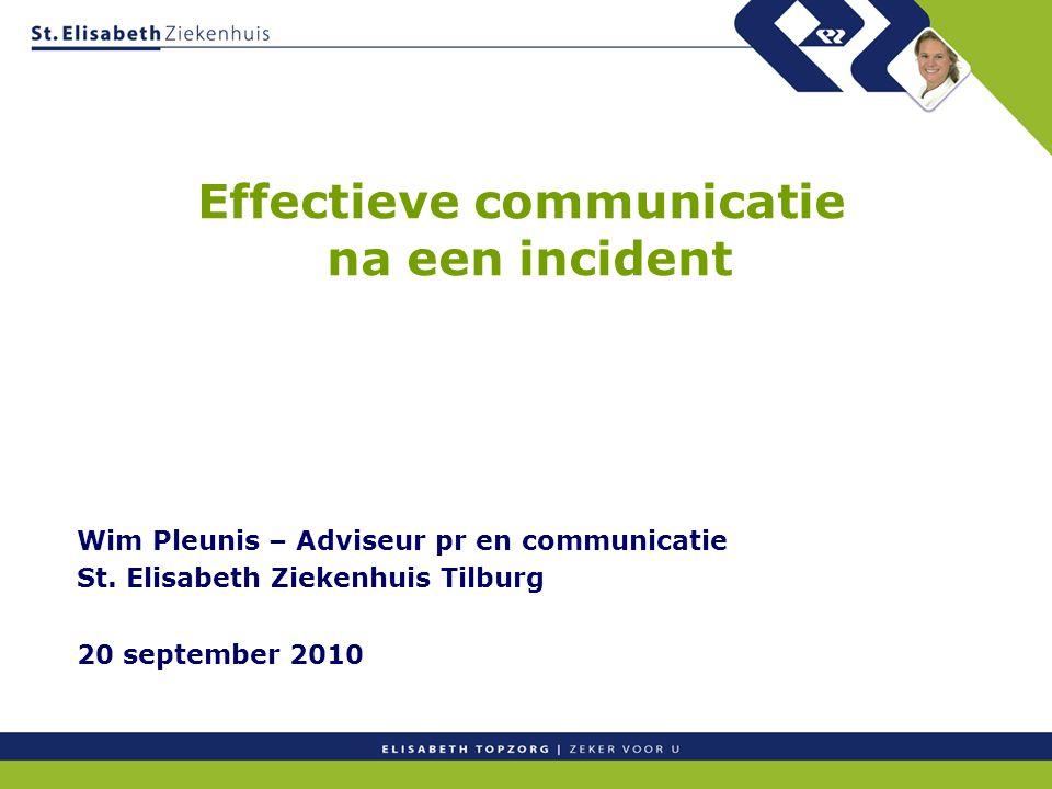 Effectieve communicatie na een incident