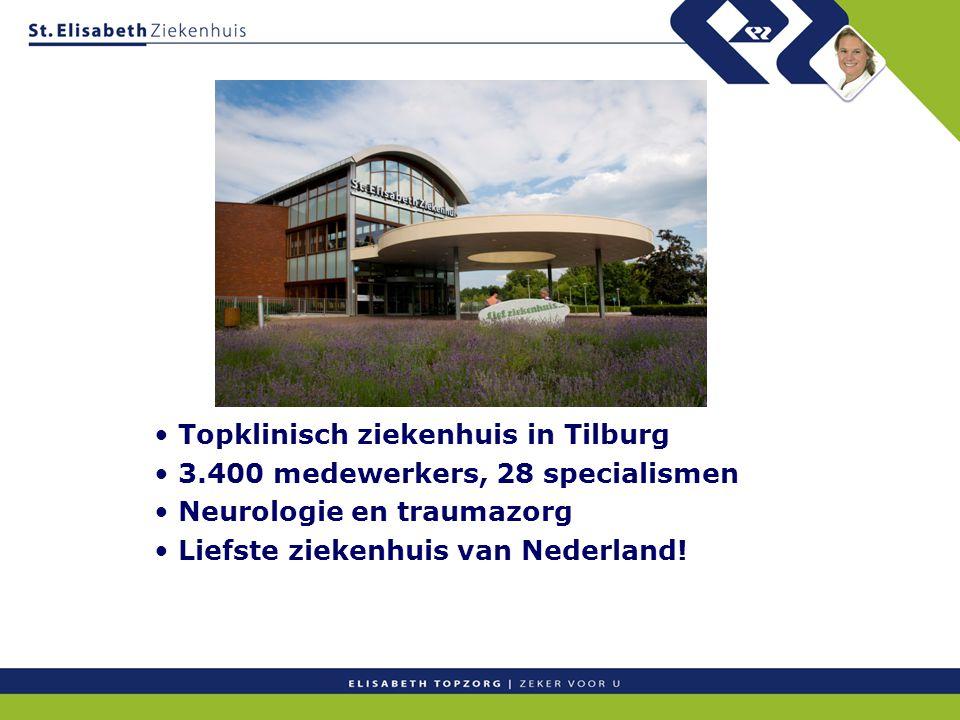 Topklinisch ziekenhuis in Tilburg
