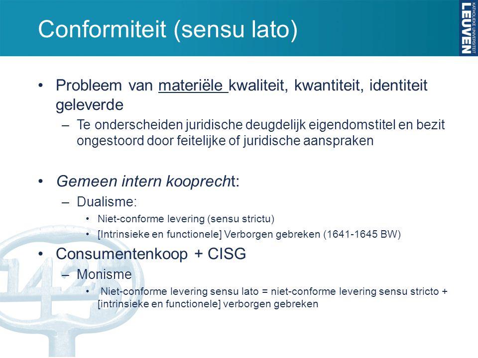 Conformiteit (sensu lato)